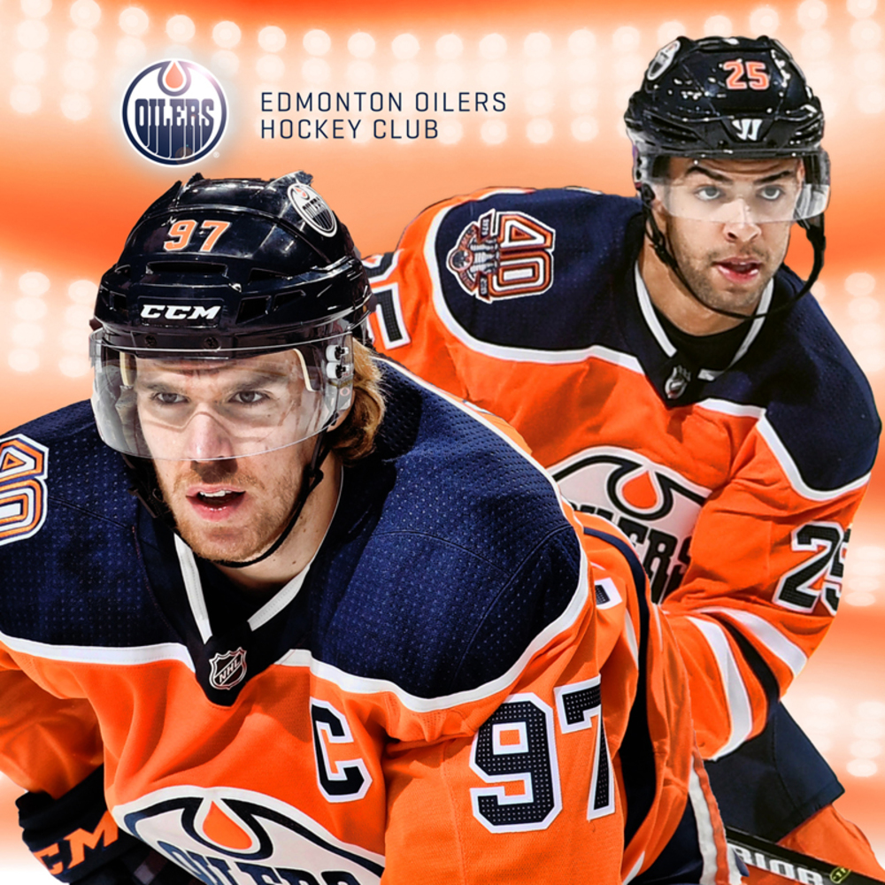 Edmonton Oilers Connor McDavid & Darnell Nurse Private Meet And Greet VIP Package Including Oilers Practice Viewing And Tour Of The Oilers Hall Of Fame Room At Rogers Place