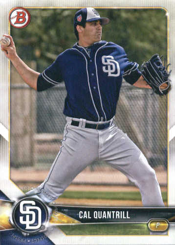 Photo of 2018 Bowman Draft #BD195 Cal Quantrill