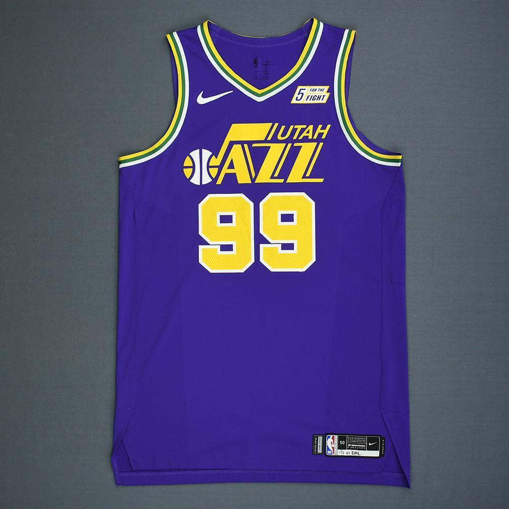 online retailer f44c1 fe0d5 Jae Crowder - Utah Jazz - Game-Worn Classic Edition 1986-96 ...