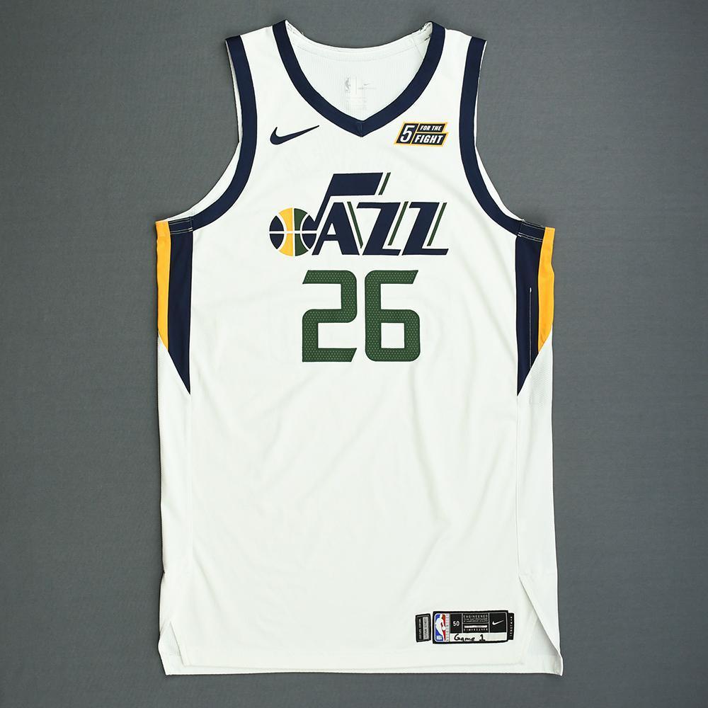 cozy fresh dec00 99000 Kyle Korver - Utah Jazz - Game-Worn Association Edition ...