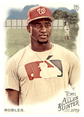 Photo of 2019 Topps Allen and Ginter #361 Victor Robles SP