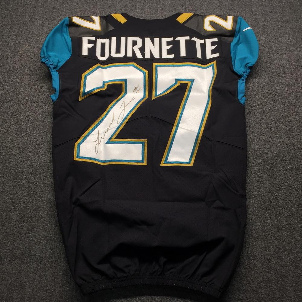 Jaguars - Leonard Fournette Signed Authentic Jersey Size 40