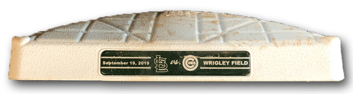 Photo of Game-Used 1st Base -- Used in Innings 5 through 9 -- Cardinals vs. Cubs -- 9/19/19