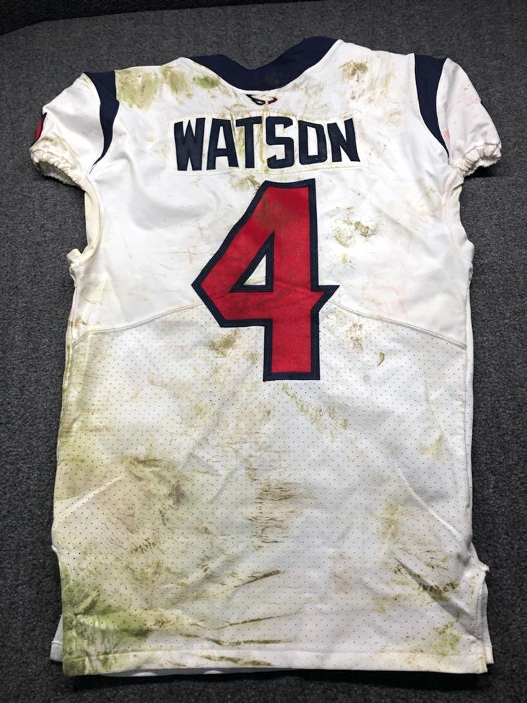 NFL Auction | Deshaun Watson - Game Worn London Game Jersey ...
