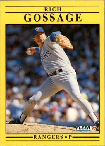 Photo of 1991 Fleer Update #59 Rich Gossage