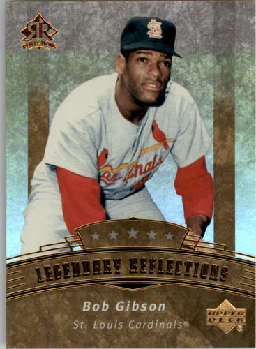 Photo of 2005 Reflections #178 Bob Gibson LGD