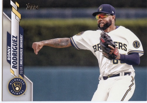 Photo of 2020 Topps #682 Ronny Rodriguez