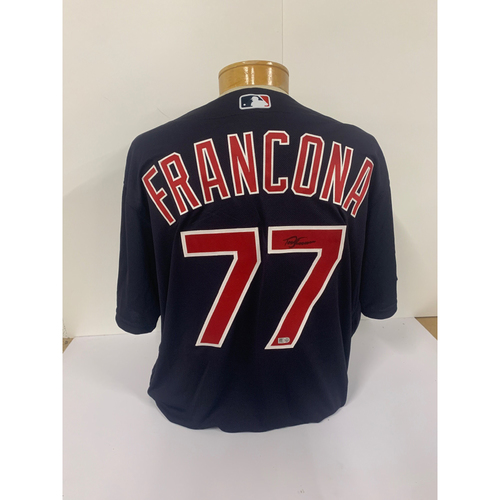 Photo of Terry Francona Autographed Jersey