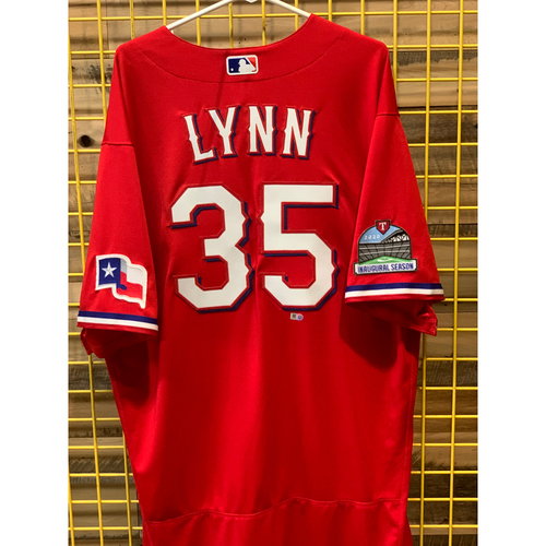 Lance Lynn Team-Issued Red Jersey
