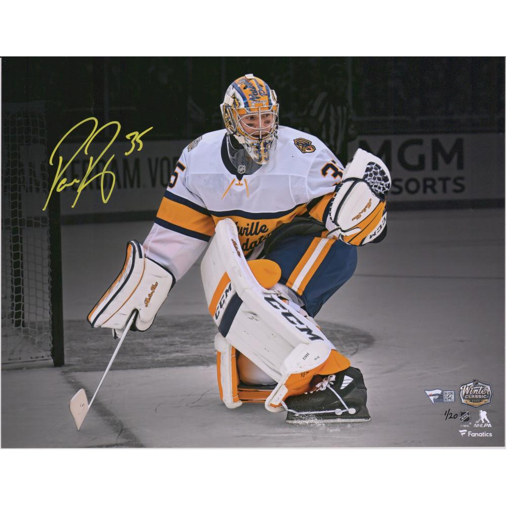 Pekka Rinne Nashville Predators Autographed 11