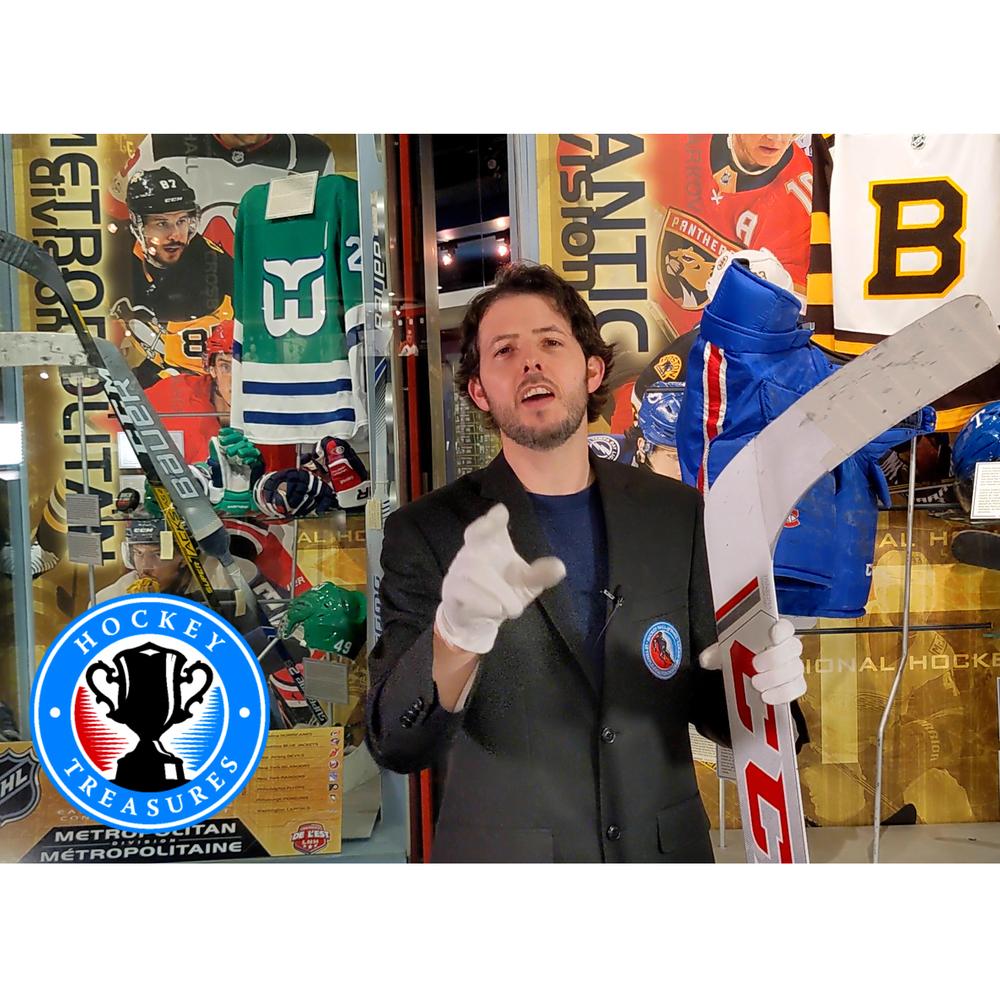 Hockey Treasures Exhibit Install + Video Experience