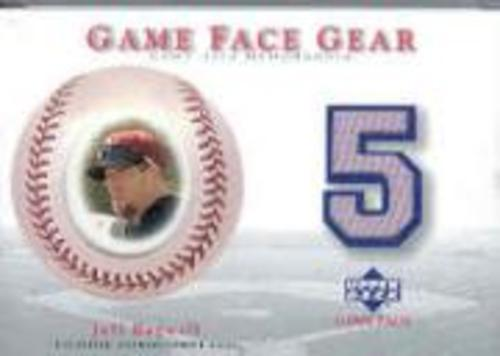 Photo of 2003 Upper Deck Game Face Gear #JB Jeff Bagwell
