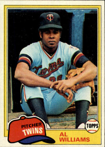 Photo of 1981 Topps #569 Al Williams DP RC