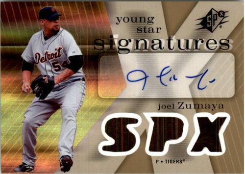 Photo of 2007 SPx Young Stars Signatures #JZ Joel Zumaya