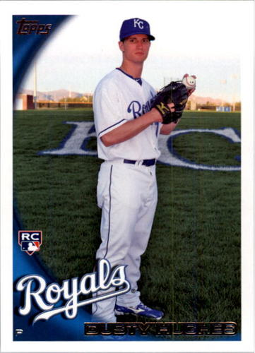 Photo of 2010 Topps #524 Dusty Hughes RC