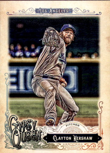 Photo of 2017 Topps Gypsy Queen #75A Clayton Kershaw