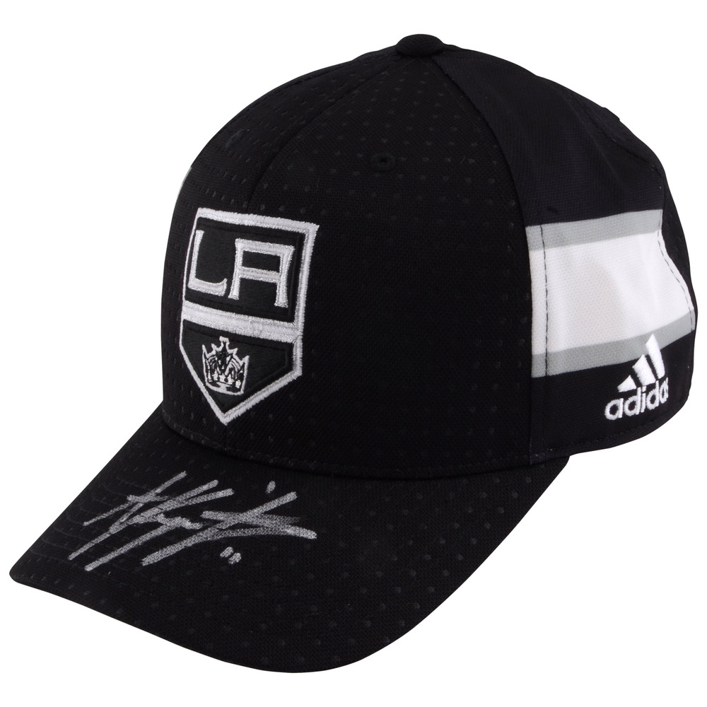 Anze Kopitar Los Angeles Kings Autographed Adidas Cap - #11 of a L.E. of 11