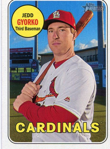 Photo of 2018 Topps Heritage #333 Jedd Gyorko