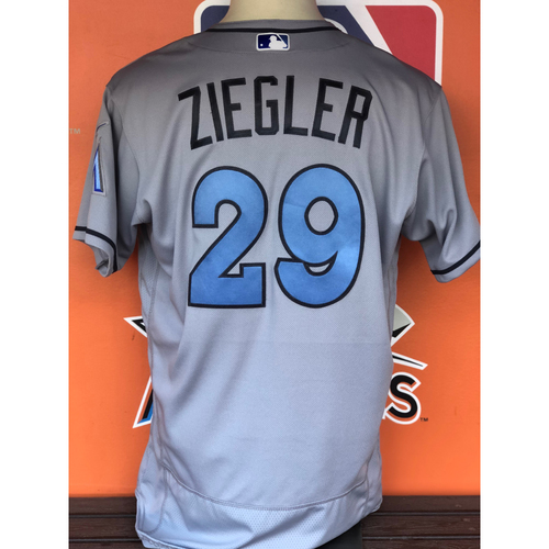 Photo of Game-Used Jersey: Brad Ziegler (Father's Day - Size 48)