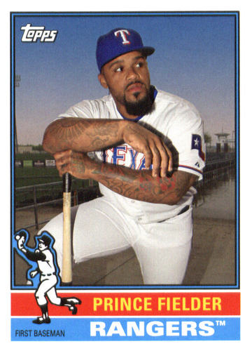 Photo of 2015 Topps Archives #191 Prince Fielder