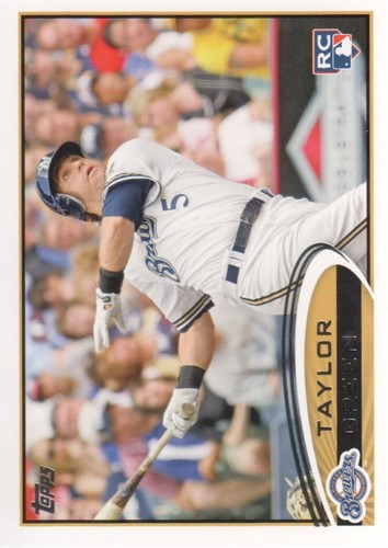 Photo of 2012 Topps #390 Taylor Green RC