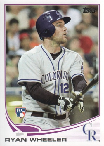 Photo of 2013 Topps #488 Ryan Wheeler RC