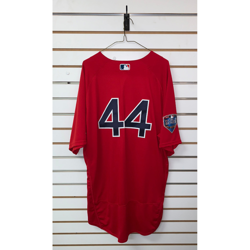 Photo of Brandon Workman Team Issued 2018 World Series Home Alternate Jersey