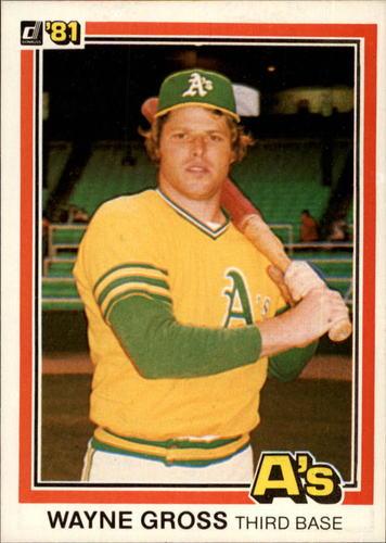 Photo of 1981 Donruss #237 Wayne Gross