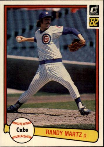 Photo of 1982 Donruss #126 Randy Martz