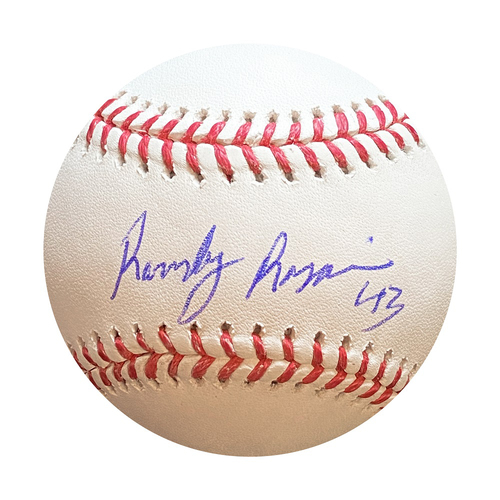 Photo of Autographed Baseball: Randy Rosario