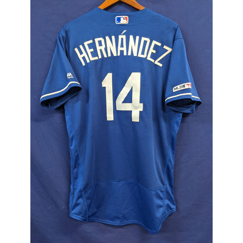 "Photo of Enrique ""Kiké"" Hernandez Team Issued 2019 Batting Practice Jersey"