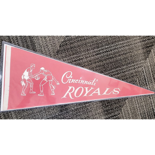Photo of Cincinnati Royals Pennant