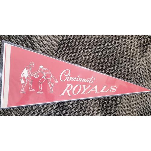 Photo of Cincinnati Royals Pennant