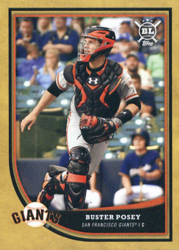 Photo of 2018 Topps Big League Gold #203 Buster Posey