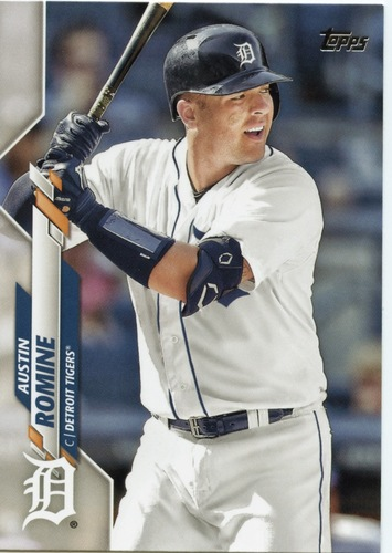 Photo of 2020 Topps #688 Austin Romine