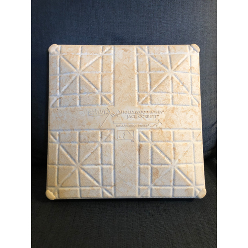 Photo of Game-Used 1st Base: 2020 NLCS - Atlanta Braves vs. Los Angeles Dodgers - Game 7: Innings 1-9