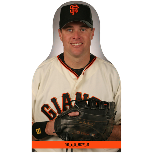 Photo of Giants Community Fund: Giants JT Snow Cutout
