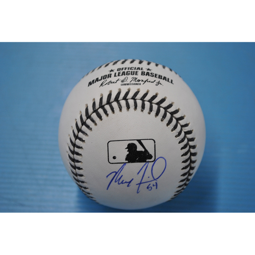 Photo of 2020 MLB Black Lives Matter Commemorative Ball - Autographed by Max Fried