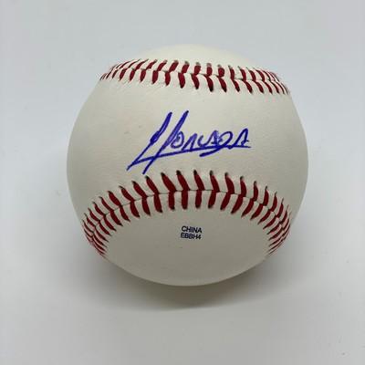 Yoan Moncada Signed Baseball