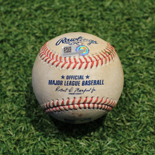 Game-Used Baseball: Ildemaro Vargas 69th Career Hit (MIN @ KC 8/21/20)