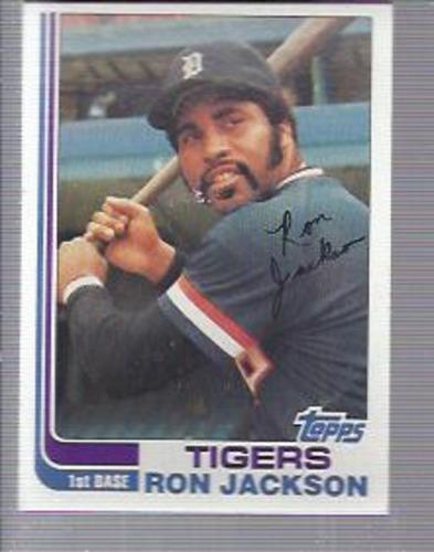 Photo of 1982 Topps #488 Ron Jackson
