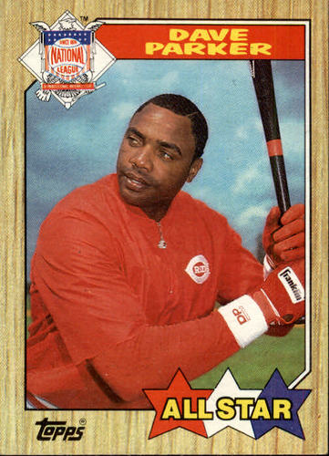 Photo of 1987 Topps #600 Dave Parker AS