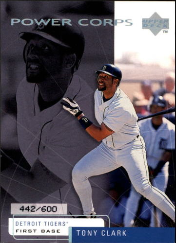 Photo of 1999 Upper Deck Challengers for 70 Challengers Edition #21 Tony Clark /600