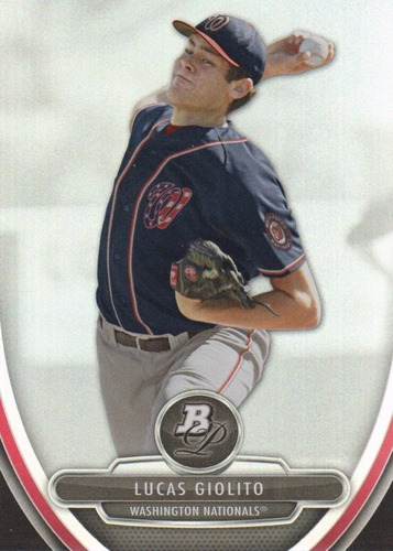 Photo of 2013 Bowman Platinum Prospects #BPP74 Lucas Giolito Pre-rookie Card