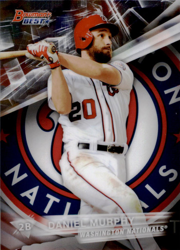 Photo of 2016 Bowman's Best #61 Daniel Murphy