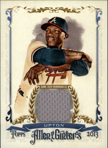 Photo of 2013 Topps Allen and Ginter Relics Justin Upton