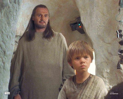 Qui-Gon Jinn and Anakin Skywalker