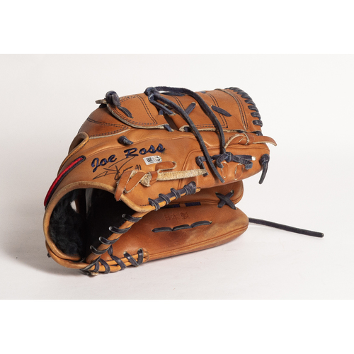 Photo of Autographed Joe Ross Glove - Winning Bidder Can Pick Up Items Directly From Joe on September 24, 2018