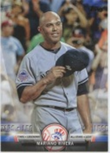 Photo of 2018 Topps Update Salute #S20 Mariano Rivera