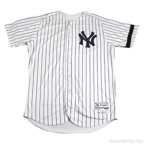 Photo of Aroldis Chapman New York Yankees Game Used #54 Pinstripe Jersey (9/20/2017)